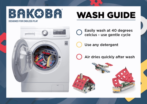 BAKOBA Easy cleaning