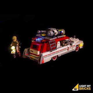 Kit di illuminazione a LED per LEGO® 75828 Ghostbusters Ecto-1 et 2