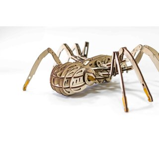 Mechanical 3D wooden-puzzle - Spider
