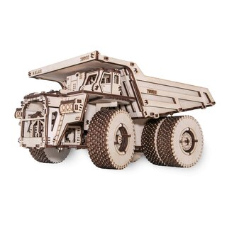 Mechanical 3D wooden-puzzle - BelAZ-75600