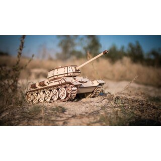 Kit de maquette 3D en bois - Tanks Russes 34-85
