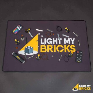 Light my Bricks - Tappetino da lavoro (60 x 40 cm)