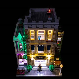 LED Licht Set für LEGO® 10278 Polizeistation
