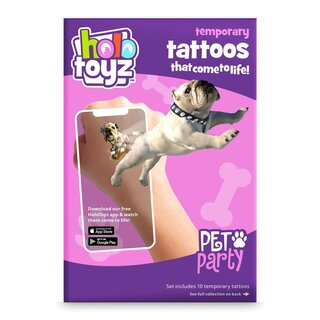 Temporary Tattoos - Pet Party