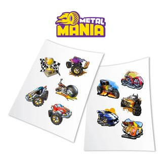 Stickers - Metal Mania