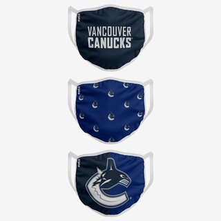 NHL Team Vancouver Canucks - Face Covers 3 pack