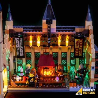 Kit di illuminazione a LED per LEGO® 75954 Harry Potter - La Sala Grande di Hogwarts