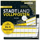 STADT LAND VOLLPFOSTEN® A4 - DO IT YOURSELF-EDITION -...