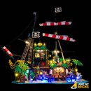LED Licht Set für LEGO® 21322 Piraten der Barracuda Bucht